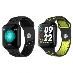 Dandy F8 1.3 inch F8 Fit Pro Fitness Band/Smart Watch/Activity Tracker with Full Touch Display Waterproof,Heart Rate Sensor, Notification Alerts Features (Assorted Straps)