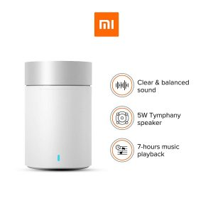 Mi Pocket Speaker 2 with Clear Treble, up to 7hrs Battery (White)